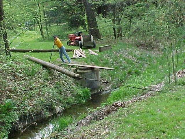 Bridge Plans Creek